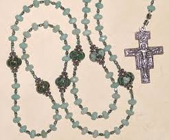 franciscan crown rosary 0f inspiraton rosaries and chaplets by via rosa