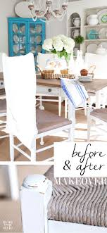 Diy Paint Dining Room Table Part 2 Dining Room Chair Makeover In My Own Style