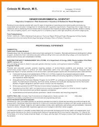 6 scientific resume example self introduce