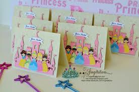 Princess Birthday Invitation Cards Princess Jingvitations Page 4