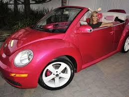 pink barbie themed vw beetle european car magazine