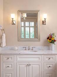 decorate a bathroom mirror furniture big white framed mirror wonderful silver bathroom 25