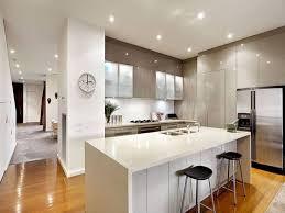 Modern Open Kitchen Design Kitchen Diner Ideas Contemporary Kitchens Simple Open Kitchen
