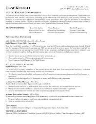 sample resume for hotel jobs sample hospitality resume hotel