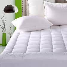 full size mattress pad soft plush fitted pillow top bed top 15 best luxury mattress pads in 2018
