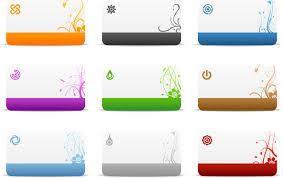 blank cards blank card templates vector free stock vector