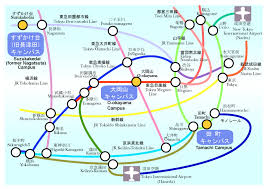 shinagawa station map access imura lab