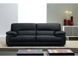 conforama canape fixe 3 places canape cuir noir 3 places canapac cuir mahac un splendide ensemble