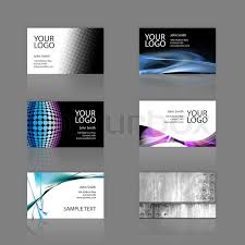Pixel Size Of Business Card An Assortment Of 6 Modern Business Cards Templates That Are