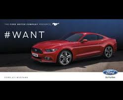 ford mustang ads mustang 4 mustang print ad