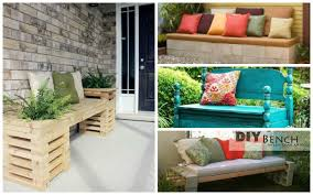 Diy Garden Ideas 20 Diy Garden Bench Ideas That Are Out Of The Ordinary Garden