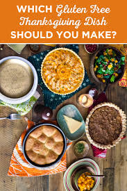 which gluten free thanksgiving recipe should you make gluten free