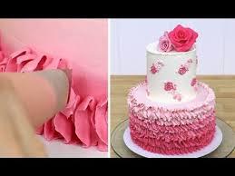 best 25 buttercream ruffle cake ideas on pinterest ruffle cake
