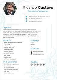 electrician resume template electrician resume template 5 free word excel pdf documents