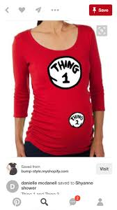 pregnant thing one and thing two costumes google search dr