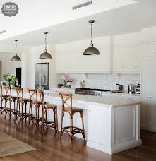 provincial kitchen ideas provincial kitchen with white subway tile and marble bench