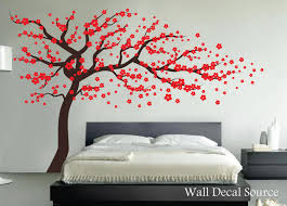 cherry blossom tree wall decal vinyl wall decor wall tree