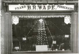 h r wade u0027s shop in great whyte ramsey showing the window dressed