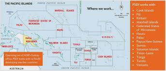 Tonga Map Pacific Private Sector Development Initiative Where Do We Work
