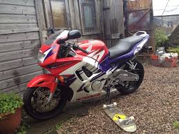 honda 600 motorbike honda cbr 600 f3 w motorbike motorcycle red white purple multi