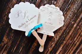 fans for wedding programs fan wedding programs shelley wiregrass weddings