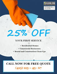 commercial cleaning brochure templates cleaning flyers 14 free cleaning flyer templates house or business