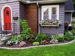 Backyard Flower Bed Ideas Beautiful Idea Landscaping Ideas For Front Of House Landscape