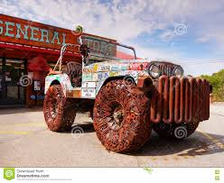 jeep utah old rusty jeep editorial stock image image of auto pickup 75087289