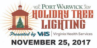 spirit halloween centreville va holiday tree lighting at port warwick virginia is for lovers