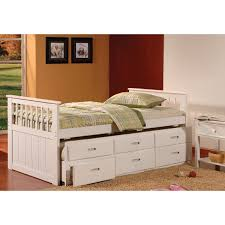 White Wood Daybed With Trundle White Wood Daybed With Trundle Bedroom Daybed Trundle Wood