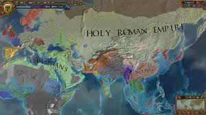 Holy Roman Empire Map The Holy Roman Empire Stretching From Western Europe To Far East