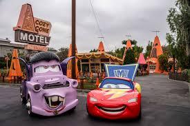 cars sarge and fillmore haul o ween at cars land