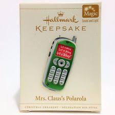 hallmark mrs claus ebay
