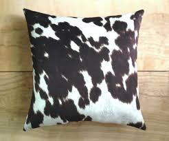 Cowhide Uses Design Cowhide Pillows Home Design By John