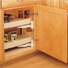RevAShelf Traditional HalfMoon Pivot  Slide Shelf Polymer - Corner cabinet for rv