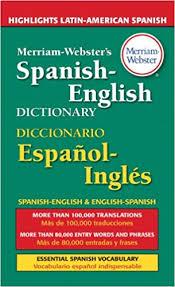 amazon com merriam webster u0027s spanish english dictionary