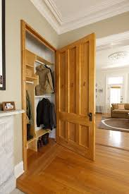 boston coat closet armoire traditional with recessed lights wooden