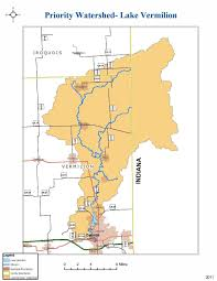 Decatur Illinois Map by Lake Vermilion Watershed Illinois Cbmp