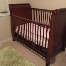 Sleigh Bed Crib Find More Gorgeous Simmons Sleigh Crib U0026 Daybed 4more Pictures In