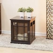 Dog Crate Furniture Bench Dog Crate Furniture U0026 End Tables You U0027ll Love Wayfair