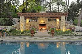 exterior extraordinary outdoor living spaces decoration using