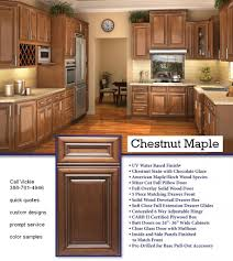 rta ik chestnut maple kitchen cabinets rta kitchen cabinets