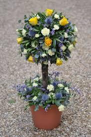 Flower Topiary 27 Best Traditional Flower Arrangements Images On Pinterest