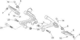 p j motorcycle engineers ltd aprilia rs125 frame u0026 chassis parts