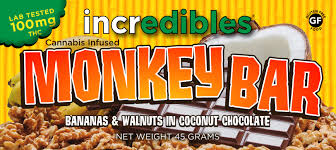 incredibles edibles incredibles monkey bar 100mg write a review marijuana edibles