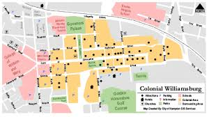 williamsburg map map of colonial williamsburg 305 south