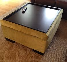Coffee Table Ottoman Combination Storage Ottoman Table Mike Ferner