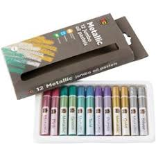 mungyo gallery oil pastels assorted fluorescent colours pack of