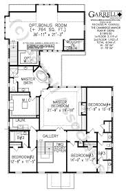 Colonial Floor Plans Cambridge Manor House Plan Colonial House Plans