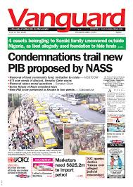 condemnations trail new pib proposed by nass by vanguard media
